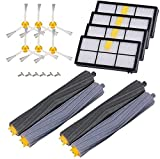 AplusTech Kit Recambios Cepillos Filtros y Accesorios Compatible con iRobot Roomba Serie 800 805 850 860 865 866 870 871 880 886 890 891 895 896 900 960 965 966 980 - Pack de 20 PCS.