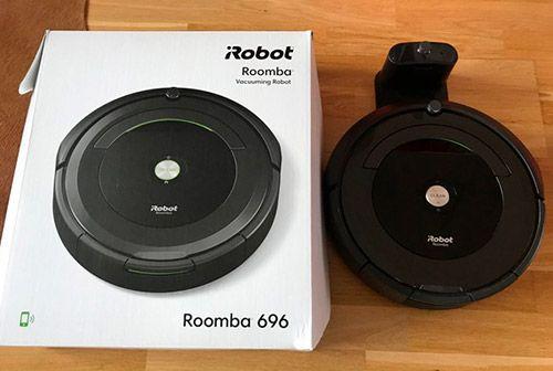 caja roomba 696