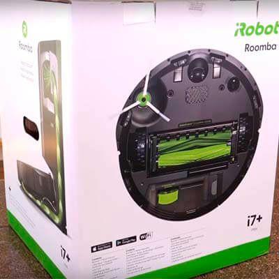 caja roomba i7+