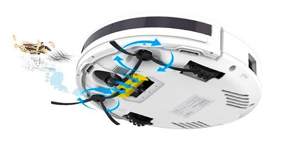 robot aspirador V3s pro