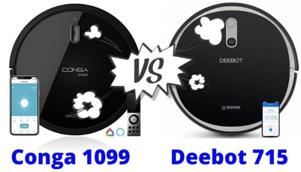 conga 1099 vs Deebot 715