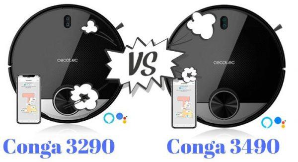 conga 3290 vs conga 3490