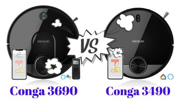 conga 3690 vs Conga 3490