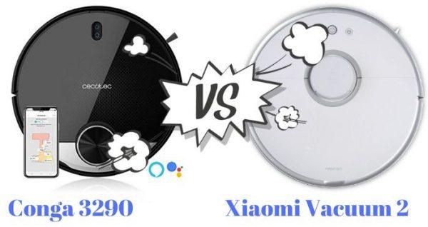 conga 390 vs Xiaomi Vacuum 2