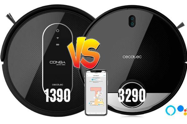 conga 1390 vs Conga 3290