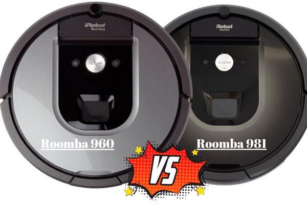 roomba 960 vs roomba 981