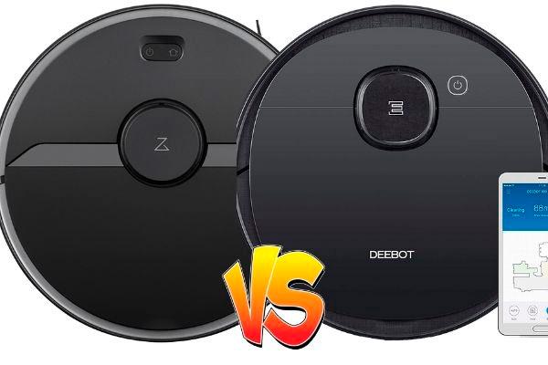 comparativa roborock s6 pure vs Deebot Ozmo 950