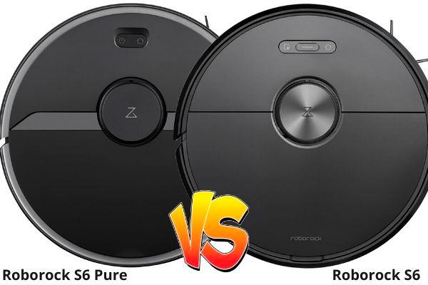 comparativa roborock s6 pure vs roborock s6