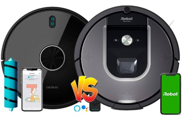 conga 4490 vs Roomba 960