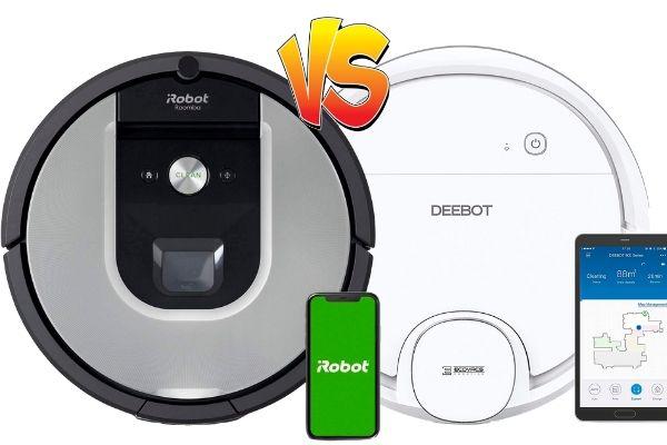 conga 971 vs Deebot OZMO 900