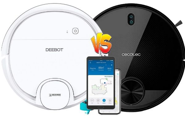 deebot ozmo 900 vs conga 3590