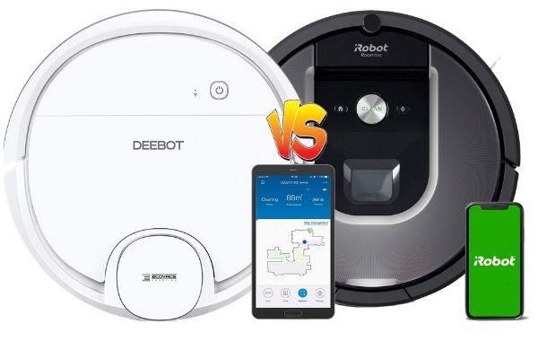 deebot ozmo 900 vs roomba 960