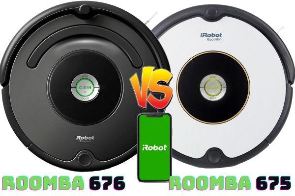 Roomba 676 vs Roomba 675