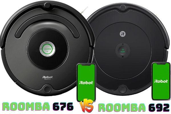Roomba 676 vs Roomba 692