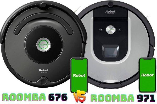Roomba 676 vs Roomba 971
