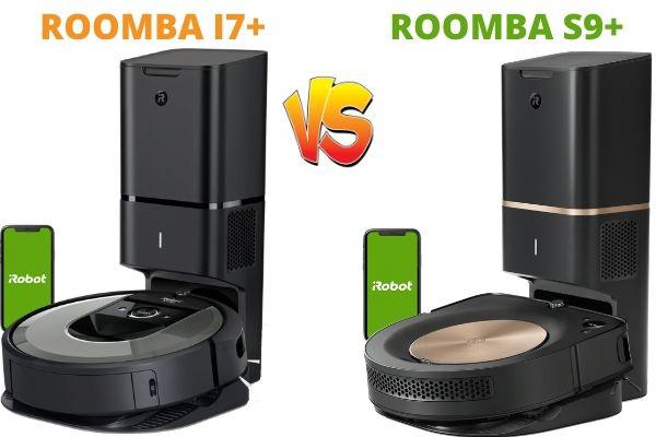 comparativa Roomba s7+ vs Roomba s9+