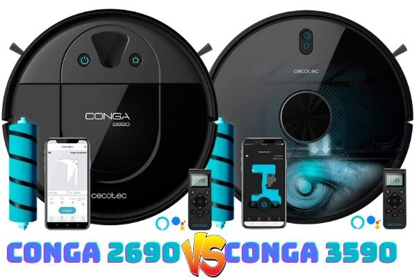 conga-2690 vs conga 3590
