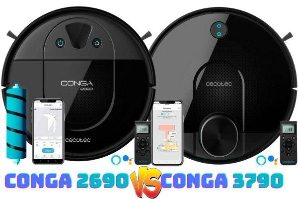 conga 2690 vs conga 3790