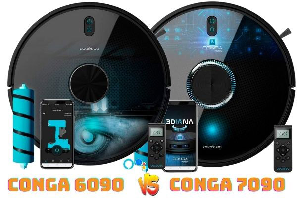 conga 6090 vs conga 7090
