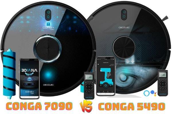 conga 7090 vs conga 5490