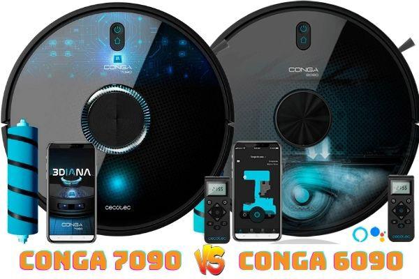 conga 7090 vs conga 6090