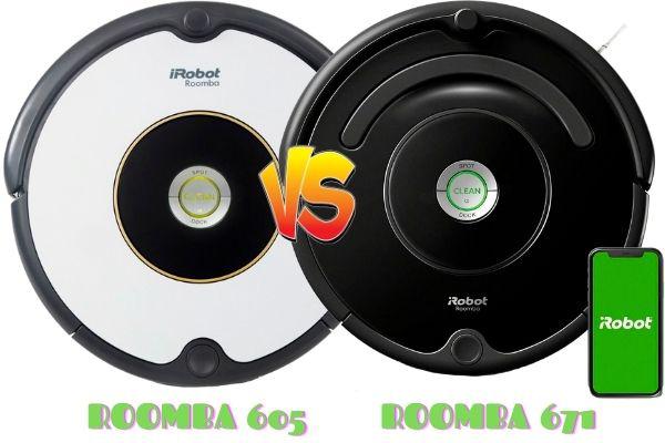 roomba 605 vs roomba 671