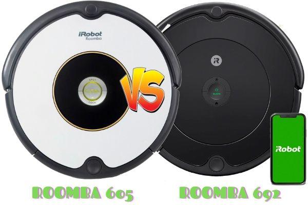 roomba 605 vs roomba 692