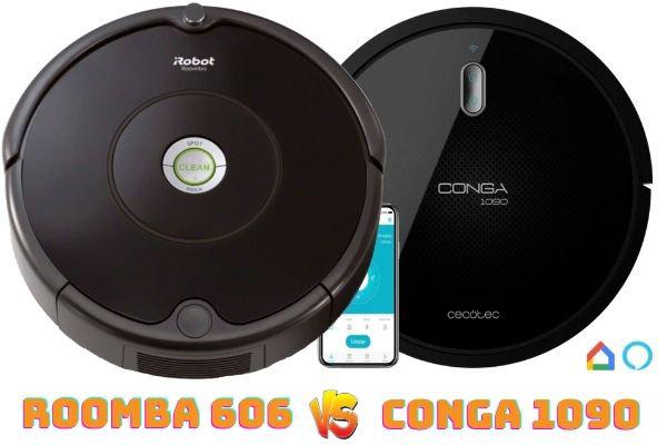 roomba 606 vs conga 1090
