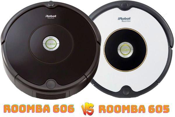 roomba 606 vs roomba 605