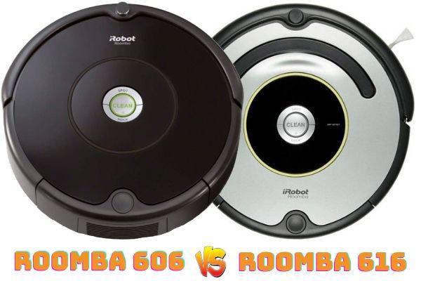 roomba 606 vs roomba 616