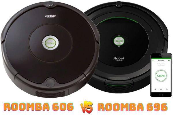 roomba 606 vs roomba 696