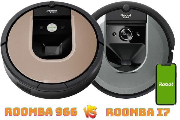 roomba 966 vs roomba i7