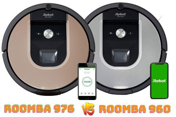 roomba 976 vs roomba 960
