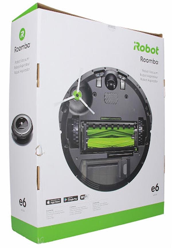 caja roomba e6