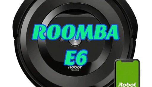 robot aspirador roomba e6