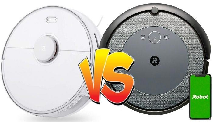 roomba i3 vs roborock s5 max